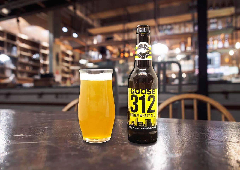 シカゴに思いを馳せながら飲むグースアイランド「312 URBAN WHEAT ALE」