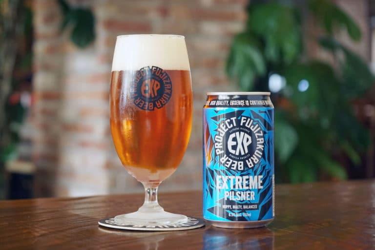 「FUJI ZAKURA BEER PROJECT エクストリームピルスナー」缶ビールの新定番