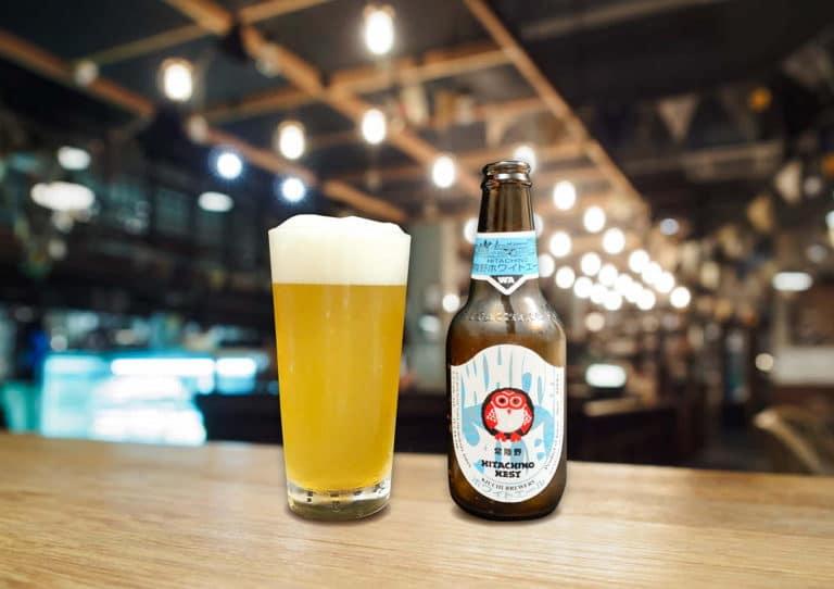常陸野ネストビール「ホワイトエール」苦味控え目でスパイシーな人気ビール