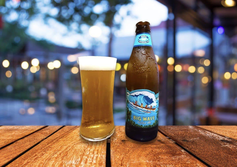 ハワイの波に乗れる!「BIG WAVE Golden Ale(ビッグウェーブ ゴールデンエール)」
