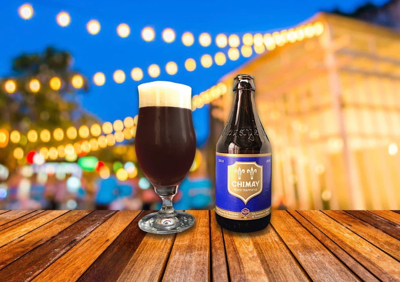 ベルギービール「CHIMAY BLUE(シメイ・ブルー)」上品な香りと深い味わい