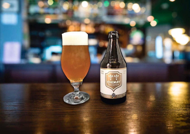 「CHIMAY TRIPLE(シメイ・ホワイト)」修道院で醸造のベルギービール