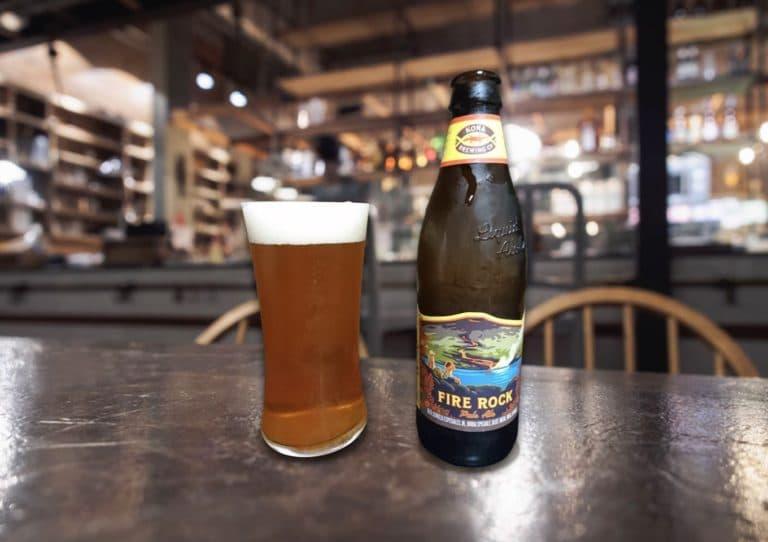 ハワイのビール「FIRE ROCK Pale Ale(ファイヤーロック ペールエール)」
