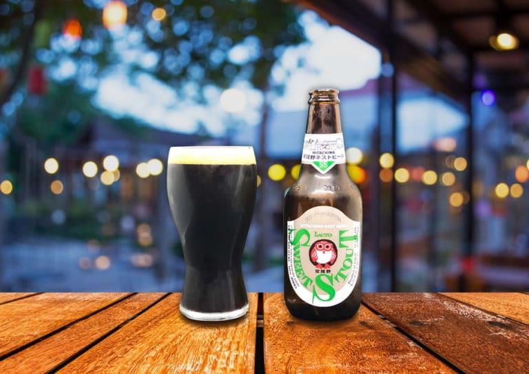 常陸野ネストビール「スウィートスタウト」苦味とほのかな甘みを感じるスタウト