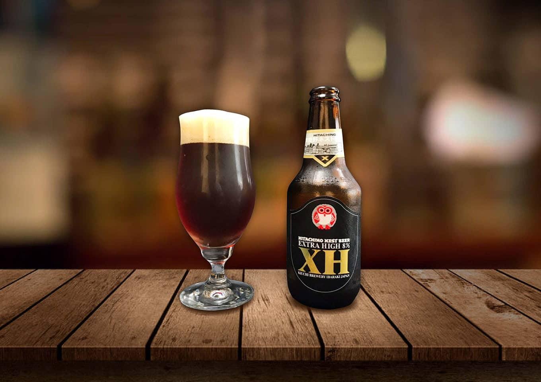 常陸野ネストビール「NESTエキストラハイ」濃厚なハイアルコールビール!