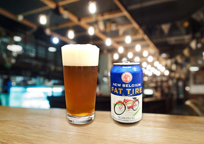 New Belgium Brewing「Fat Tire」全米に愛されるドリンカビリティ高めなアンバーエール