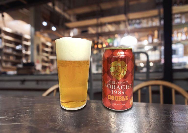 「Innovative Brewer SORACHI1984 DOUBLE」飲むソラチエース!?強烈なヒノキとレモングラスの香り!