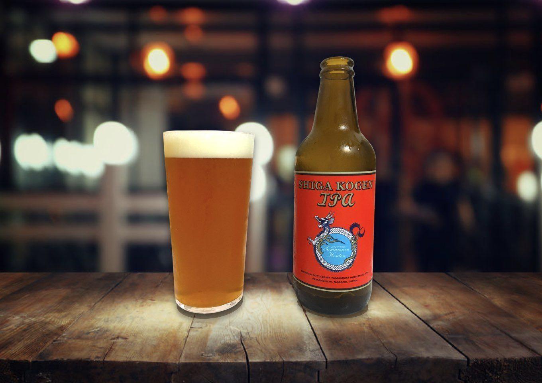 志賀高原ビール「IPA」爽快!ホップとモルトのバランスが絶妙なIPA
