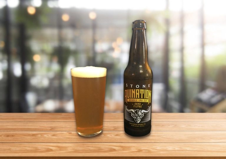 Stone Brewing「Ruination IPA2.0 Sans Filter」驚きのIBU100!破壊の名を冠するダブルIPA!