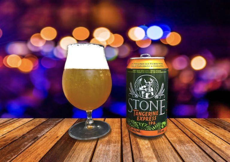 Stone Brewing「Tangerine Express IPA」タンジェリンをたっぷり使ったフレッシュIPA