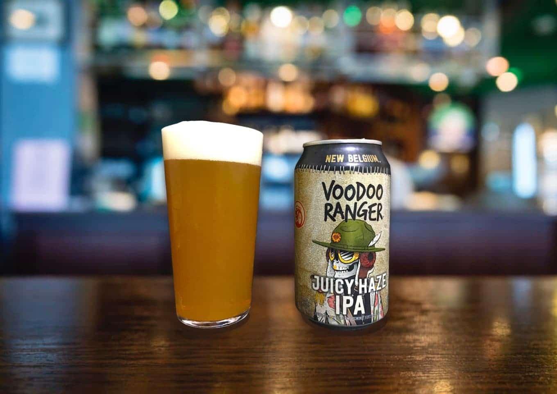 New Belgium Brewing「Voodoo Ranger Juicy Haze IPA」デイリー飲みにおススメ!安定のヘイジーIPA