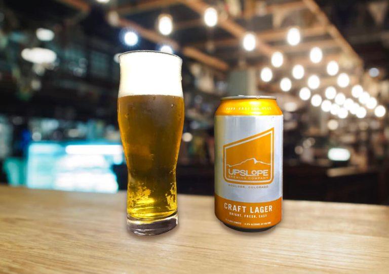 Upslope「Craft Lager」どんなシーンにも寄り添えるイージードリンキングなラガービール