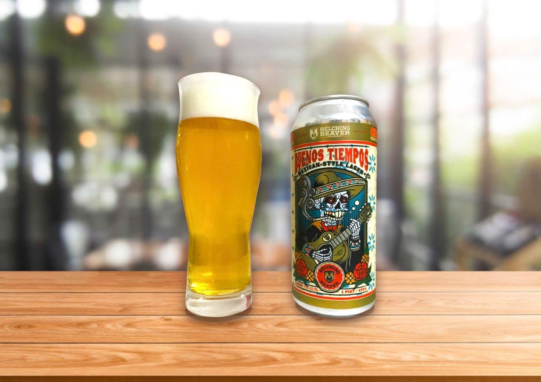 Belching Beaver「Buenos Tiempos」飲みやすいだけじゃない!しっかりモルトのコクが立ったメキシカンラガー