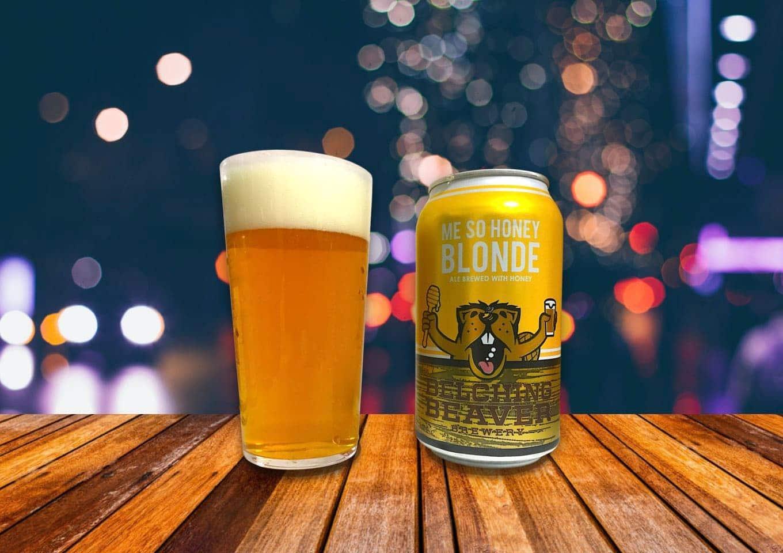 Belching Beaver「Me So Honey Blonde」モルトの甘味を蜂蜜が引き立てるゴールデンエール