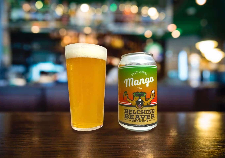 Belching Beaver「Here Comes Mango IPA」トロピカルだけどしっかり苦い!!ユニークなマンゴーIPA