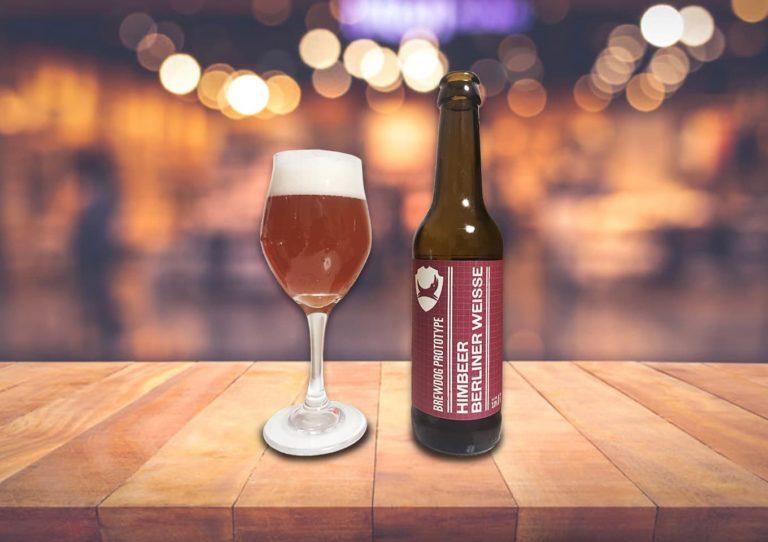 BrewDog「Himbeer Berliner Weisse」ラズベリー香るフレッシュでカジュアルな甘酸っぱビール