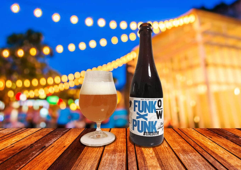 BrewDog「OverWorks Funk X Punk」あのパンクIPAを自然発酵!ワイルドさが溢れるブレットIPA