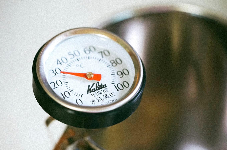 ビールの温度管理