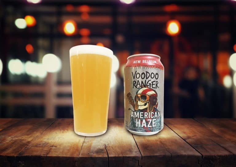 New Belgium Brewing「Voodoo Ranger American Haze」ほとばしるアメリカンホップの香り!ドライでジューシーなIPA