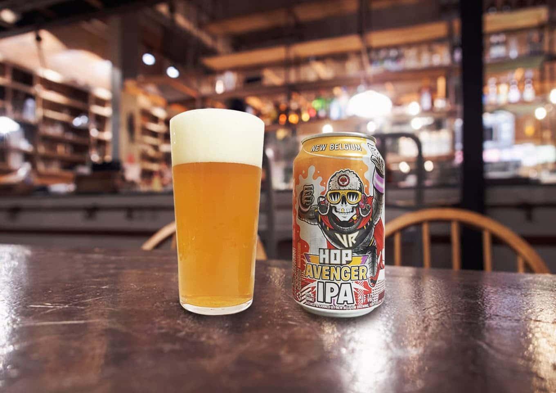 New Belgium Brewing「Voodoo Ranger Hop Avenger」華やかで苦味が効いたクリアな飲み心地のIPA