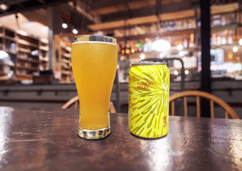 Y.MARKET BREWING「Yellow Sky Pale Ale」 柚子が口の中であふれるフルーティなペールエール!