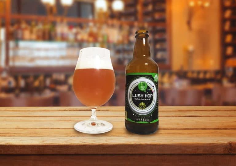 伊勢角屋麦酒「ラッシュホップIPA」アメリカンホップのみずみずしさが溢れるクリーンなIPA