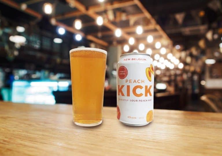 New Belgium Brewing「Peach Kick」程よい酸味がクセになるドリンカブルなサワーエール
