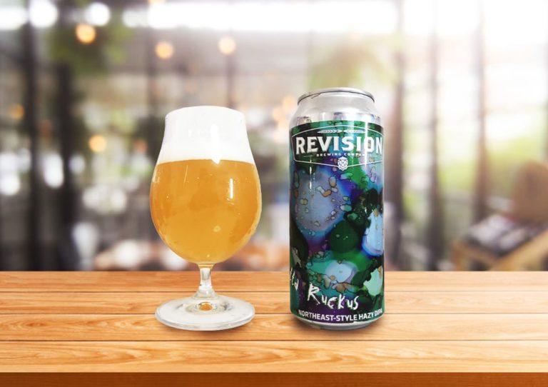Revision Brewing「Whole Lotta Ruckus」アメリカ西海岸と東海岸のエッセンスが混ざり合ったヘイジーIPA