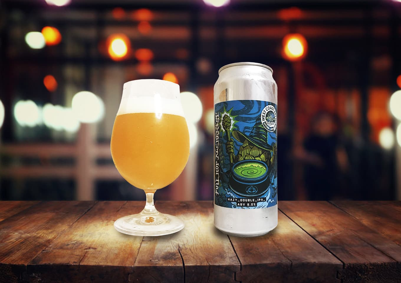 West Coast Brewing「Full Hop Alchemist v.3」トロピカルの中に松ヤニの風味が光るヘイジーダブルIPA!