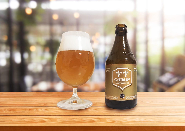 「CHIMAY GOLD(シメイ・ゴールド) 」修道僧のためにつくられていた特別なトラピストビール