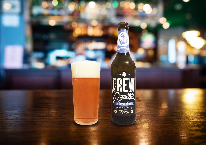 CREW Republic「DRUNKEN SAILOR」ラガー大国ドイツから生まれた濃厚で爽快なアメリカンIPA!