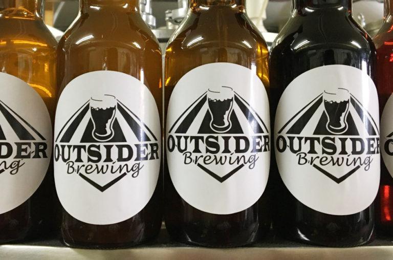 Outsider Brewing がボトルビールの販売を開始!