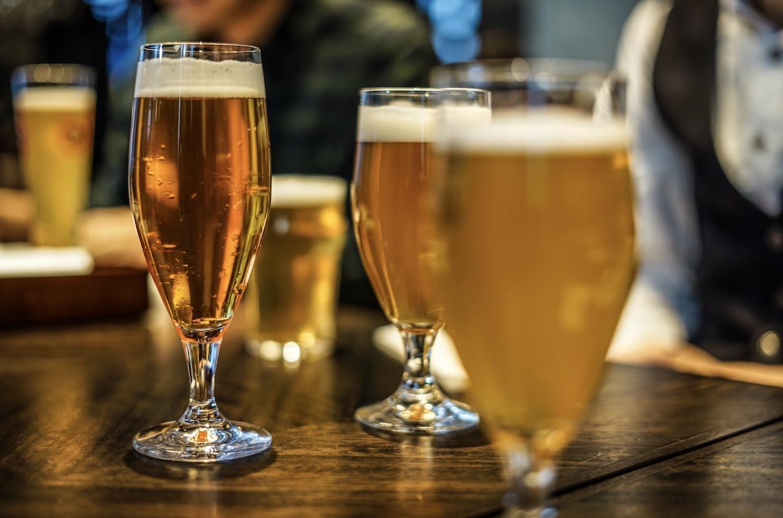 ビールはグラスで味が変わる