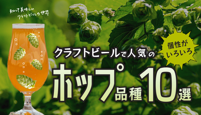 人気のホップ品種&ホップが特徴的なクラフトビール10選